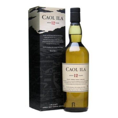 Caol Ila Isley Single Malt Scotch whisky 12 éves 0.7L