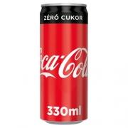 Cocacola zero 0.33 dobozos