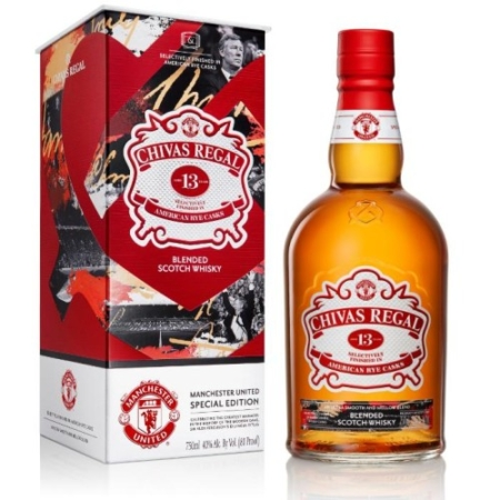 Chivas Regal Limited Edition by Manchester United