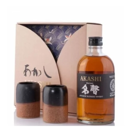 Akashi Whisky Meisei (White Oak Distillery) Gift Pack 0,5l DD.